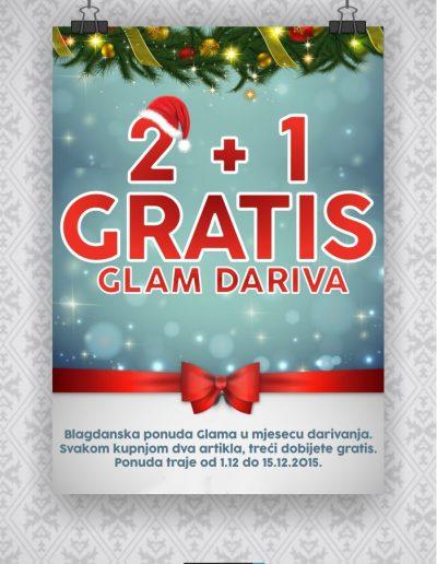 plakat_akcija_dva_plus_jedan_gratis_glam