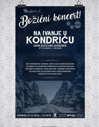 plakat_za_bozicni_koncert_kud_kondric